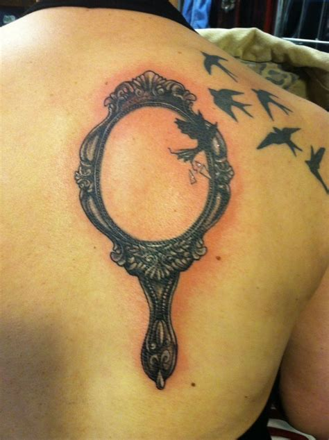 vintage mirror tattoo mirror designs ideas and meaning tattoos for you