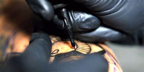 slow motion tattoo slowmotion is oddly hypnotizing huffpost