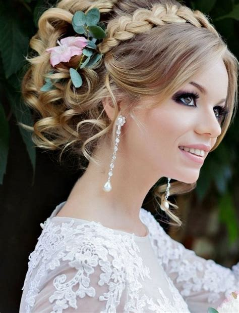 Bridal Hairstyles With Flowers by Wedding Hairstyle For Medium Hair