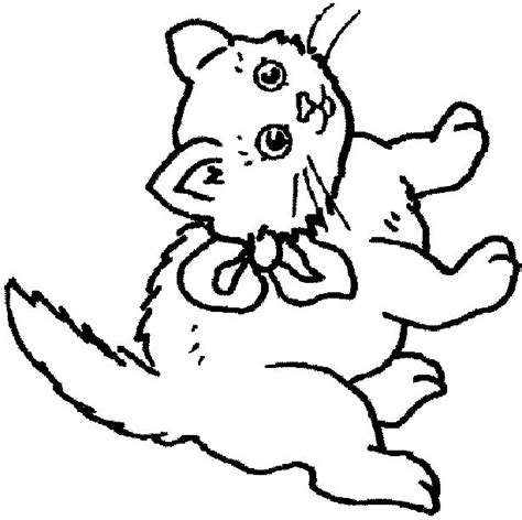 Coloring Page And Cat by Cat Coloring Pages Coloringpages1001