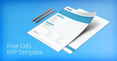 Free Rfp Template For Faster Easier Lms Selection 3pl Rfp Template