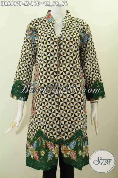design baju batik untuk wanita design baju batik wanita terbaru dress batik kancing
