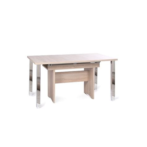 primo dining table primo wooden extendable dining table in sonoma oak 30182