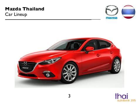 Mazda Car Lineup 2015