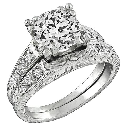 Where Can I Find Engagement Rings by Antique Platinum Engagement Ring And Wedding Band