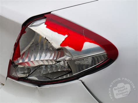 back lights on car broken tail light free stock photo image picture car