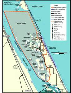 florida national wildlife refuges map pelican island national wildlife refuge florida national