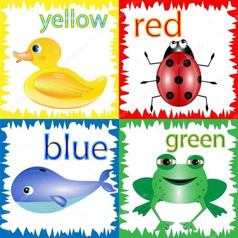 imagenes animadas a color ilustraci 243 n de dibujos animados de colores primarios con