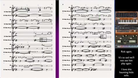final sections in music shine on you crazy diamond keyboards notation sheet