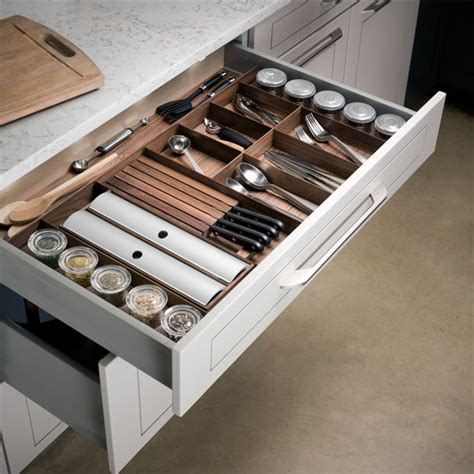hafele quot fineline quot cutlery tray spice drawer insert