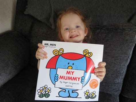Mr Giveaway - celebrating with mr men my mummy book and giveaway