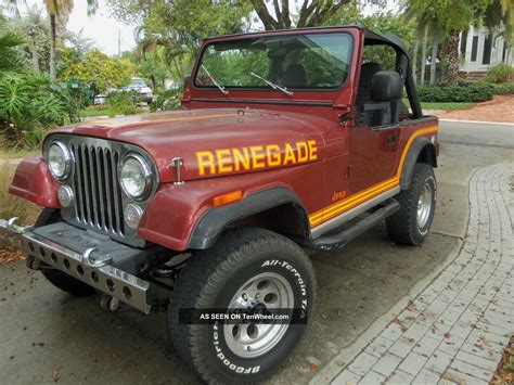 jeep renegade 1985 1985 jeep renegade 28 images jeep renegade 1985 review