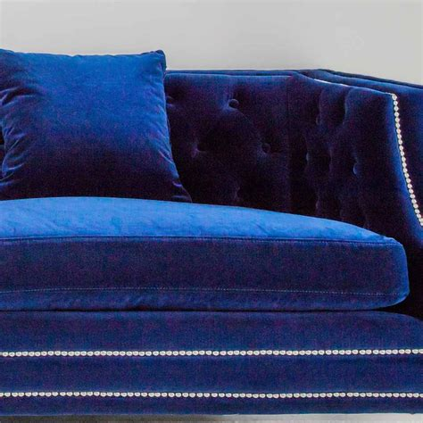 cobalt blue couch cobalt blue velvet sofa best sofas decoration