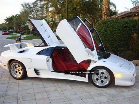 91 Lamborghini Diablo 1991 Lamborghini Diablo 7 400k Window Sticker All Orig