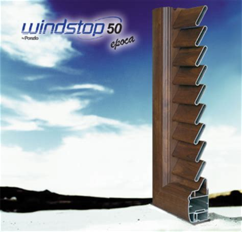 profili per persiane in alluminio scheda tecnica profilo in alluminio windstop 50 epoca