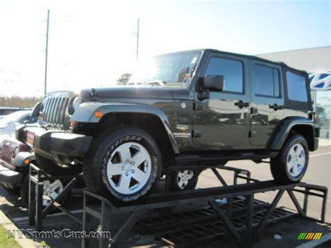 2007 Jeep Wrangler Green 2007 Jeep Wrangler Unlimited 4x4 In Jeep Green