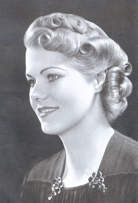 hairstyle facts from the 1940 s fashion history vintage decade 1930s my hair style