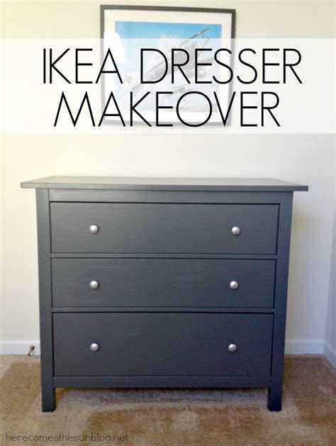 Ikea Furniture Redone by Ikea Dresser Makeover Here Comes The Sun