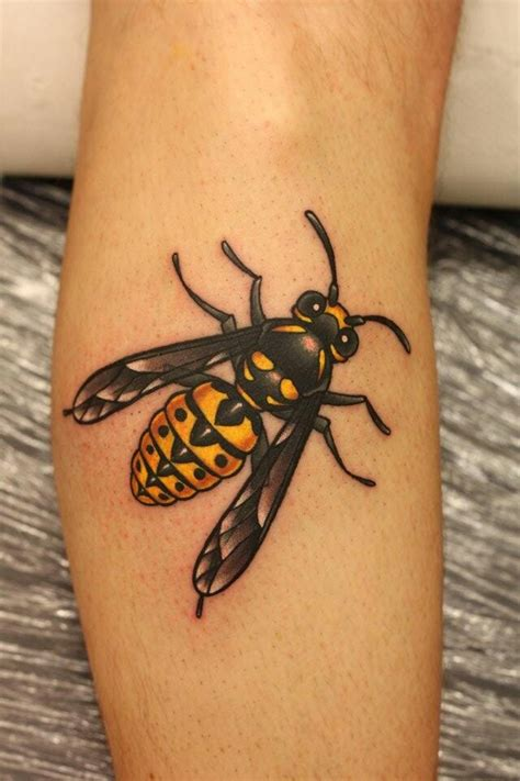 wasp tattoo wasp thanks tattoos bee
