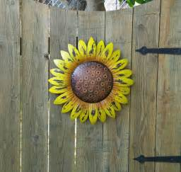 sunflower wall decor rustic sunflower wall decor