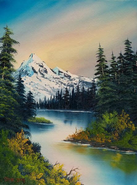 bob ross painting 25 best ideas about bob ross paintings on bob