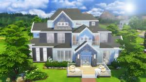 Small Homes Big Families The Sims 4 Speed Build Large Family Home