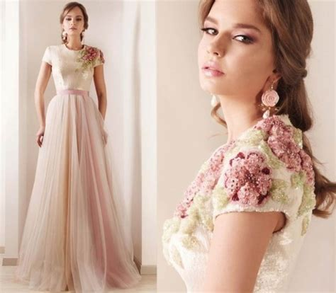 Maxi Dress By Rafif Fashion dress rami kadi bridesmaid blush maxi dress