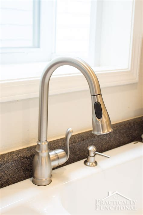 how to install a new kitchen faucet how to install a kitchen faucet