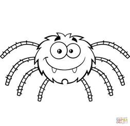 spider coloring spiders coloring pages free coloring pages small spider