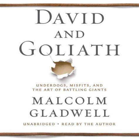 audiobook david and goliath underdogs misfits and the 72 best books learning images on pinterest