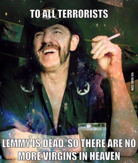 Lemmy Meme - lemmy true god 9gag