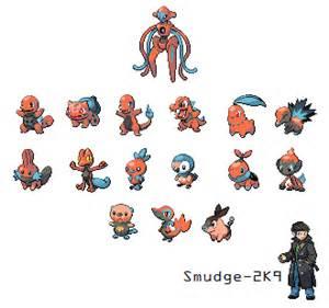 pokemon deoxys starters by smudge 2k9 on deviantart