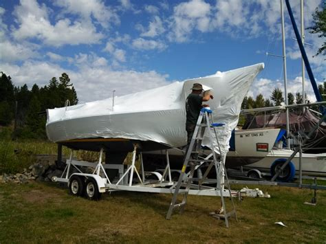 shrink wrap boat or not shrink wrap your own boat gt gt scuttlebutt sailing news