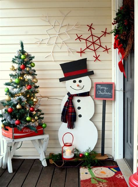 snowman decorations to make top 40 entryway decoration ideas celebration all about