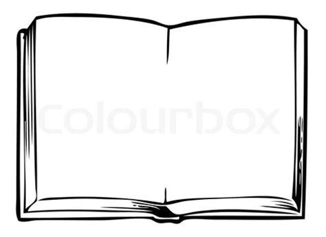 book picture frames stock vector of open book blank frame bw morning work
