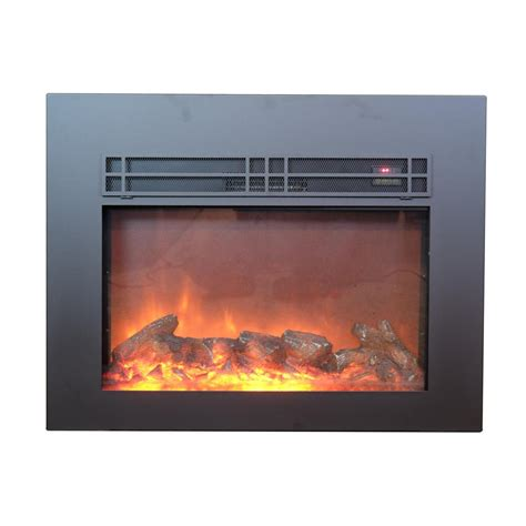 true home decor y decor true flame 30 in electric fireplace insert in