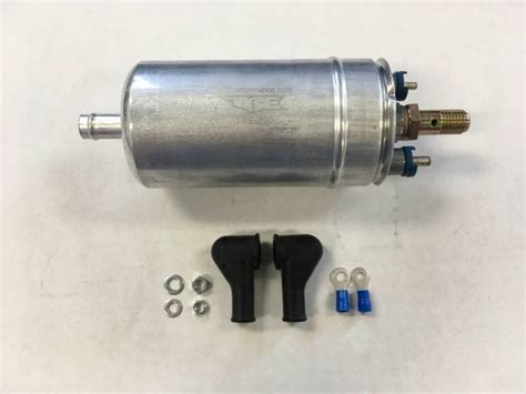 volvo  turbo external inline oem replacement fuel pump   treperformancecom