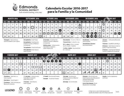 Edmonds School District Calendar Edmonds School District Calendars Lynnwood Wa