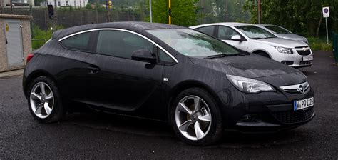 2012 opel astra j gtc pictures information and specs