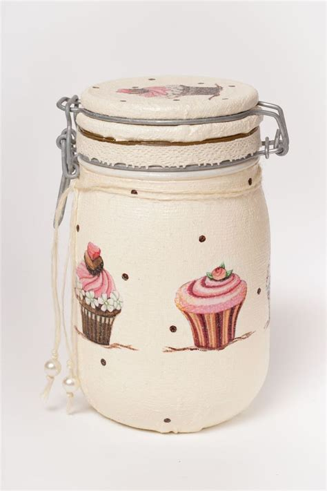 Idea Decoupage - decoupage jar decoupage decoupage jars