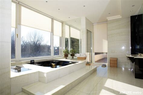 classy bathrooms bathroom classy with large glass wall and beautiful