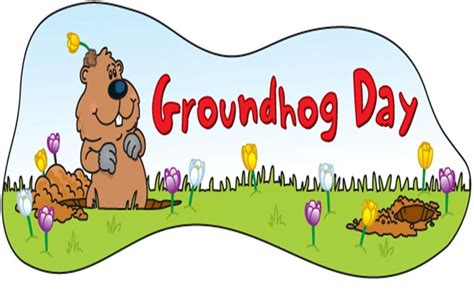 groundhog day 2018 clipart images of groundhogs