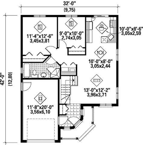 simple one story house plans architectural designs