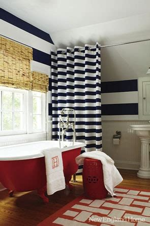 red white and blue bathroom red white blue reclaimedhome com