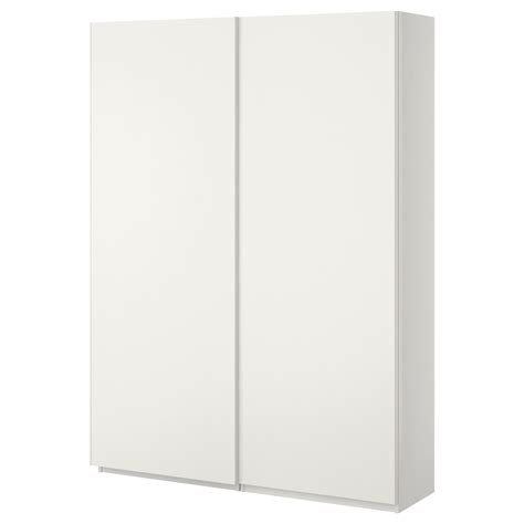 ikea wardrobe white pax wardrobe white hasvik white 150x44x201 cm ikea