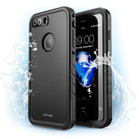 i iphone 8 plus waterproof iphone 8 8 plus nexcase waterproof cover integrated protector protect my phones