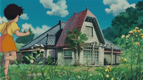 nabor house anime journeys my neighbor totoro house