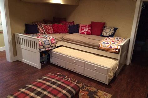 triple trundle bed google search cabin interiors