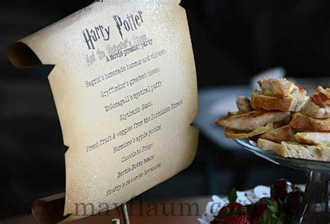 theme dinner names harry potter menu harry potter party pinterest harry