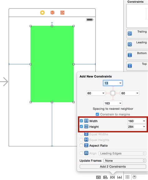auto layout image height auto layout tutorial in ios 9 part 2 constraints